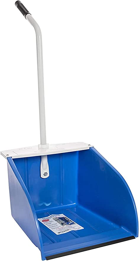 Amazon Com Mclane Stand Up Dust Pan Indoor And Outdoor Wide Mouth Dust Pan For Kitchen And Garage Dp5 Home Kitchen