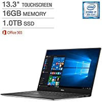 Dell XPS 13.3 Touchscreen Laptop - Intel Core i7 - Quad HD+(3200 x1800) Windows 10 Pro