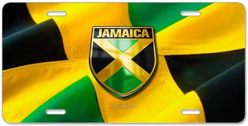 CafePress/ /Aluminium Nummernschild vorne Nummernschild Vanity Tag /Jamaika/