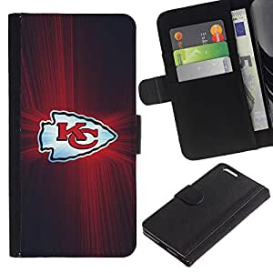 Stuss Case / Funda Carcasa PU de Cuero - KC Equipo - Apple Iphone 6 PLUS 5.5