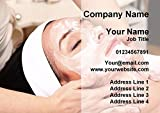 Beauty Treatment Spa Massage Personalized Business Cards