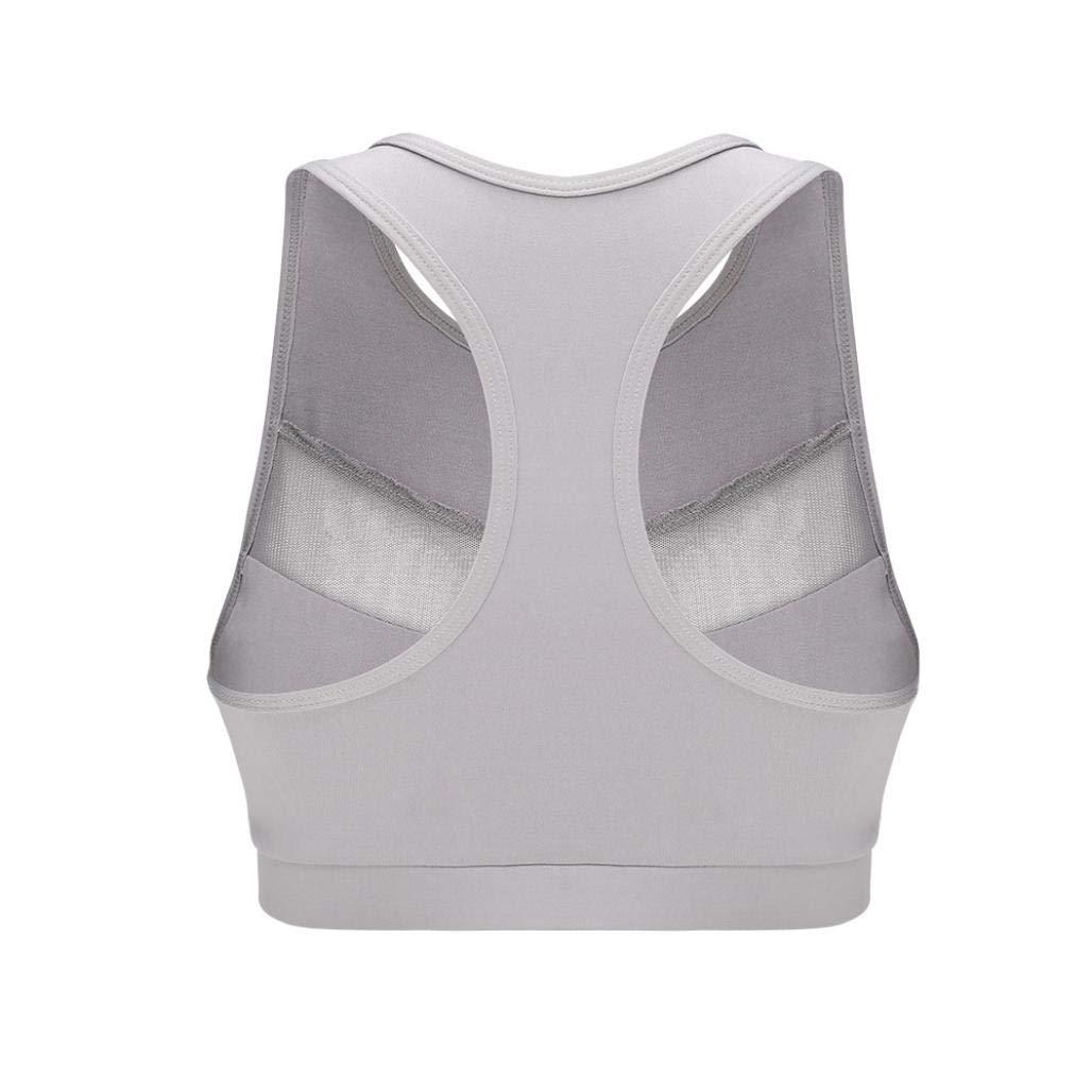 ❤ Chaleco de Yoga Fitness Mujeres, Perspectiva de Malla de Moda Chaleco Deportivo Tank Tops Running Bra Absolute: Amazon.es: Ropa y accesorios