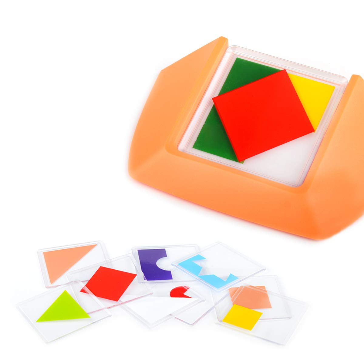 Color and Shape Puzzle Creative Pattern Logic Game Learn Logical Reasoning Skill Through Fun Gameplay for Age 3 to Adult by YHZAN