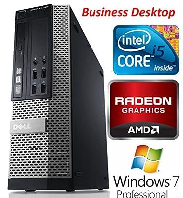 Dell Optiplex 7010 SFF Premium Business Desktop PC, Intel Quad Core i5 Processor, 8GB RAM, 128GB SSD, DVD+/-RW, AMD Radeon 7470 Graphics, Windows 7 Professional (Certified Refurbished)