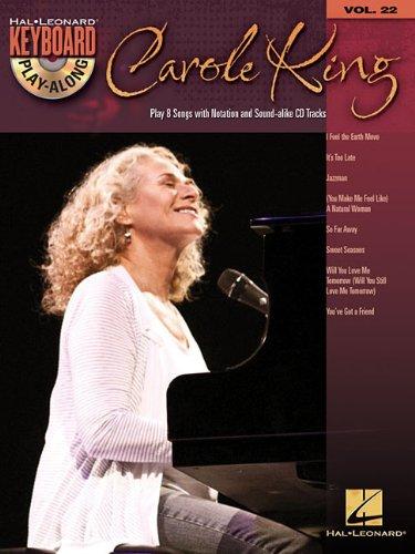 Keyboard Play Along Series - Carole King: Keyboard Play-Along Volume 22 (Hal Leonard Keyboard Play-Along)