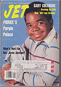 Jet Magazine Gary Coleman Diff' rent Strokes March 1982 Digest Size 090812R