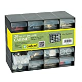 20 Multi Drawer Plastic Storage Cabinet for Home Garage or Shed by Garland