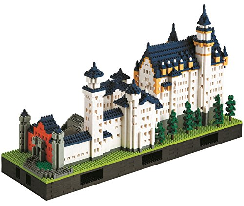 Nanoblock: Neuschwanstein Castle Deluxe Edition Set by Kawada
