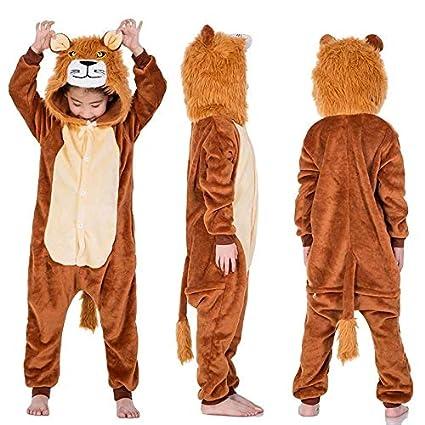 ZLRN Cosplay Animal Fox Traje Unisex Historieta del león ...