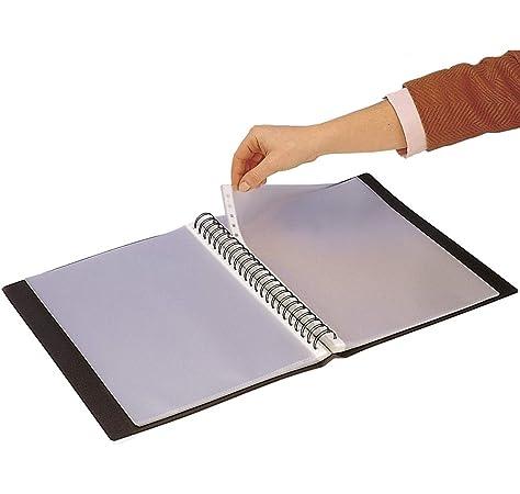 Grafoplás 39425054. Carpeta fundas extraibles, tamaño A4, color rosa, 50 fundas: Amazon.es: Oficina y papelería