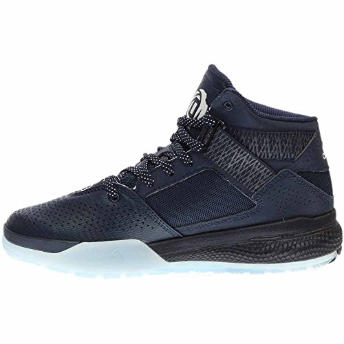 Adidas Prestaties Heren D Steeg 773 Iv Basketbalschoen Navy / Zwart / Wit