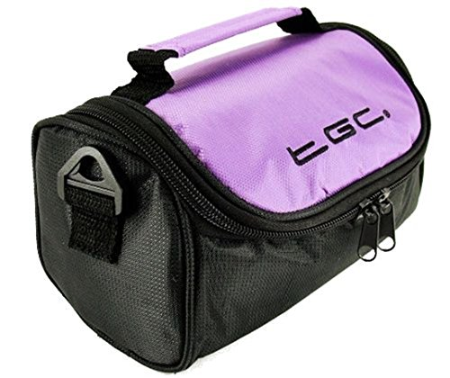 Purple Bolso TGC amp; Electric Hombro Mujer with White Dreamy Cool Blue Black para Trims Negro al S1OrcAS