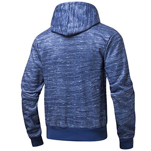 Bright AIRAVATA Sudadera Blue1 hombre con para capucha wTwAqX