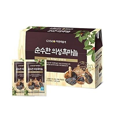 GNM Natural Elegance Black Garlic Essence 80ml 30 Capsule/Parents/Gift/Bundled Goods/Health/Drink/Essence/Gift/Special Price/Food