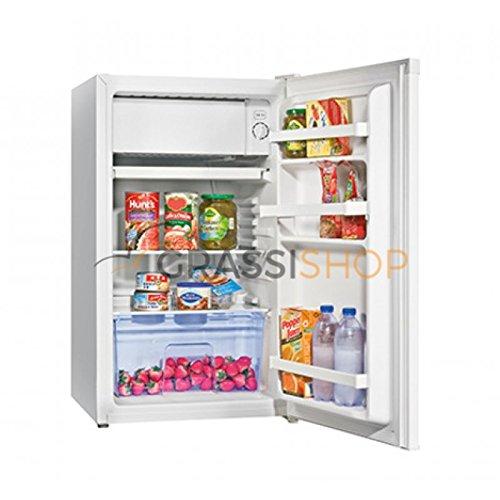 Hisense RR120D4BW1 Freestanding 91L A+ White combi-fridge - Combi-Fridges (Freestanding, White, Right, Rotary, Glass, 91 L)