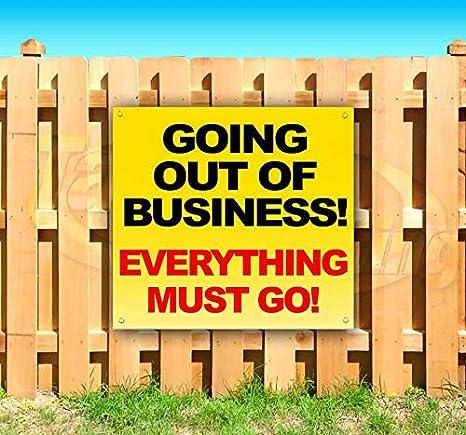 Amazon.com: ¡Saliendo del negocio! Todo debe ser. Cartel de ...
