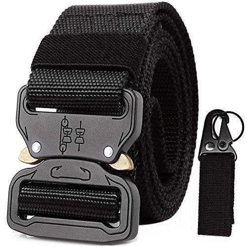 Riggers Belt Black Tactical Belts for Men Military Battle Women Nylon Webbing...