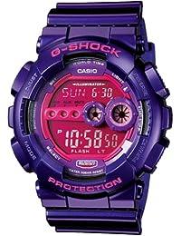 Casio Unisex G-Shock GD100SC-6 Pink Resin Quartz Watch