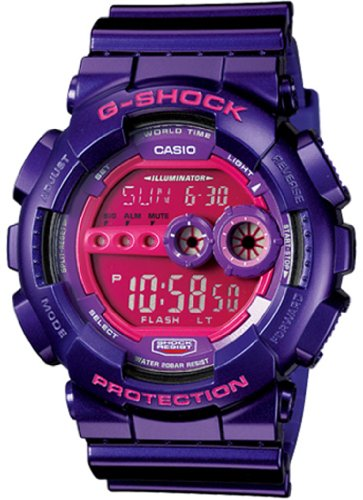 Casio Unisex G Shock Watch GD100SC 6
