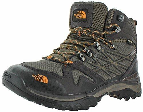 Gtx Mid Backpacking Boot (The North Face Hedgehog Fastpack Mid GTX Boot Men's Shroom Brown/Brushfire Orange 12.5)