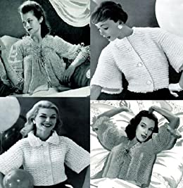 Viejo anticuado Vintage chaquetas a Crochet (Spanish Edition) by [Unknown]
