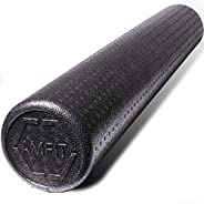 AMFit Foam Roller, High Density Foam Rollers for Muscles, Deep Tissue Massage, Back Pain, Yoga, Trigger Point,