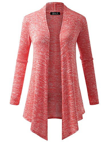 Because Womens Sweater Asymmetric Cardigan product image