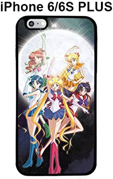 Sailor Moon Crystal Squad for Coque iphone 6 Plus noir Coque case ...