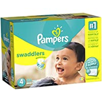 Pañales desechables Pampers Swaddlers, 37000933526, Envoltorios, 4, 1, 1