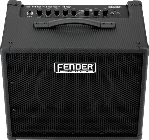 Fender Bronco 40 40-Watt 1x10-Inch Bass Combo Amp by Fender