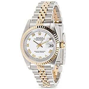 Rolex Datejust 79173 Women's Watch in 18k Yellow Gold/Stainless Steel (Certified Pre-owned)