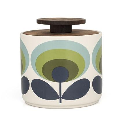 Orla Kiely Storage Jar Kitchen Amazoncouk Kitchen Home