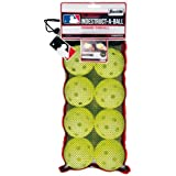 Franklin Sports MLB 9-inch Indestruct-A-Balls Practice Baseballs, Yellow