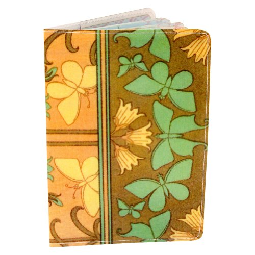 - Butterfly Art Nouveau Passport Cover