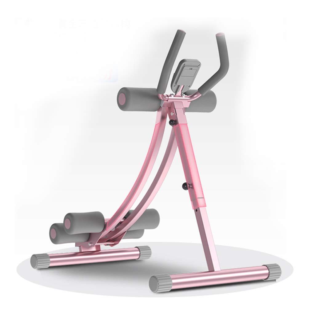 腹筋器具 Pink 腹部トレーナーホーム腹部フィットネス機器女性ピンクフィットネス機器積載重量175kg : (Color : 腹筋器具 Pink) Pink B07KK189FB, TANIGAWA24X 毛皮 本革バッグ 財布:f3e0fc77 --- sharoshka.org