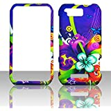 2D Colorful Flowers Motorola Photon Q LTE XT897 Sprint Case Cover Phone Snap on Cover Case Faceplates