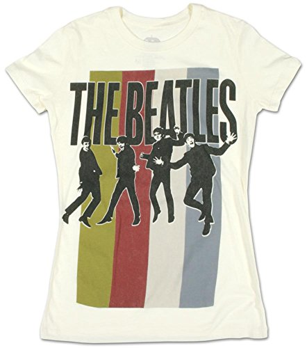 Juniors: The Beatles - Standing Group Juniors (Slim) T-Shirt Size S (The Tshirt Womens Beatles)