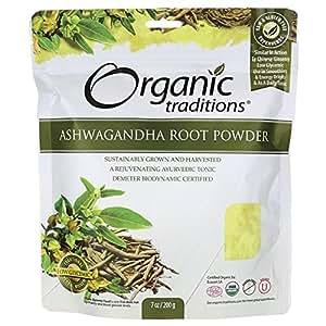 Organic Traditions Organic Ashwagandha Root Powder 7 oz Pkg