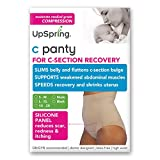 UpSpring C-Panty High Waist C-Section Recovery & Slimming Underwear (S/M Nude)