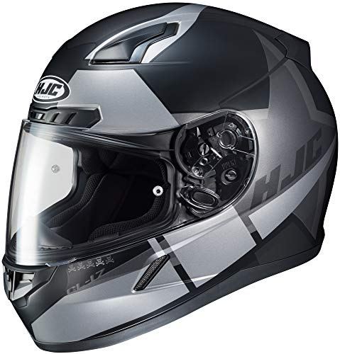 HJC Helmets CL-17 Boost Black/Gray Full Face Helmet, L