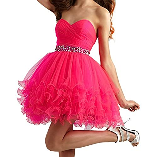 Short Pink Prom Dresses: Amazon.com
