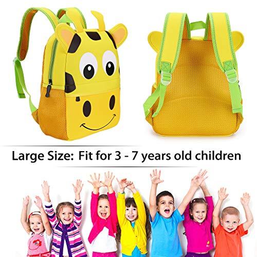 Children Toddler Kids Backpack 3D Cute Zoo Animal Cartoon Pre School Backpack