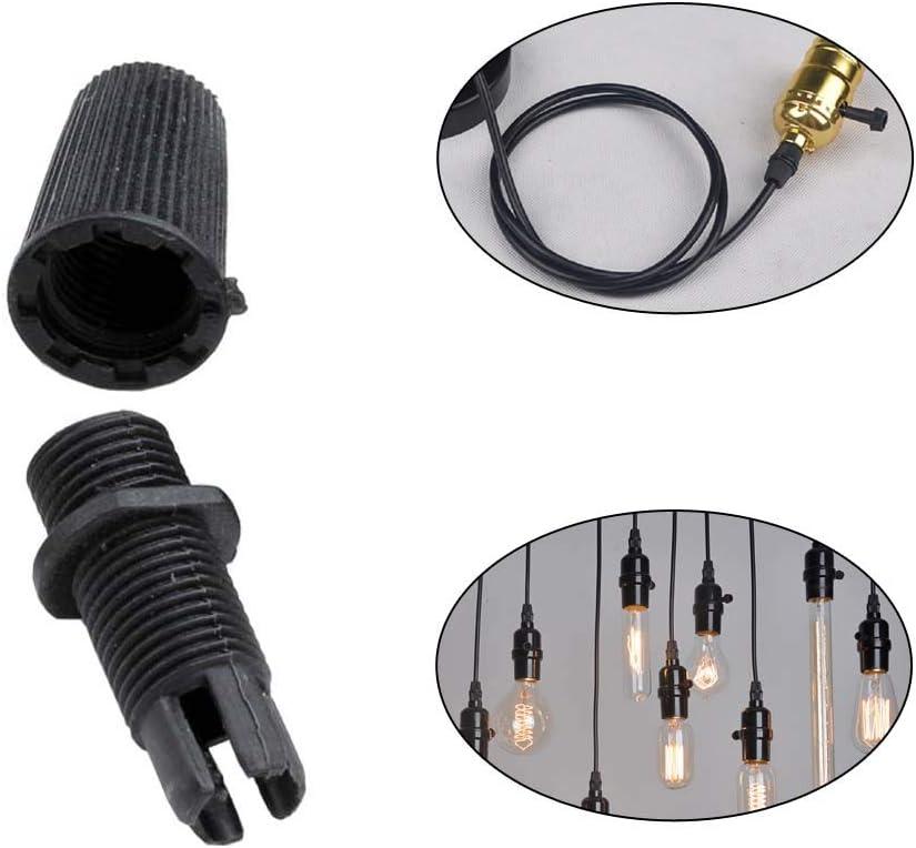 Singeru Juego de 50 guirnaldas de cable impermeables IP68 de 10 mm M10 PG11 para casa//jard/ín//exterior