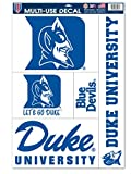 Duke Blue Devils Official NCAA 11''x17'' Car Window Cling Decal by Wincraft