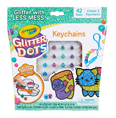 Glitter Dots Keychains is a popular toy for girls