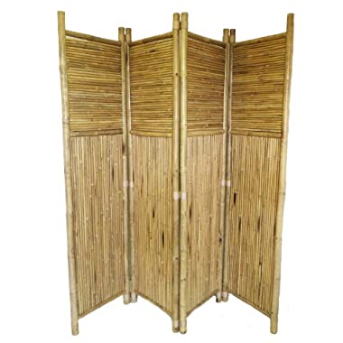 Bamboo 4 Panel Screen