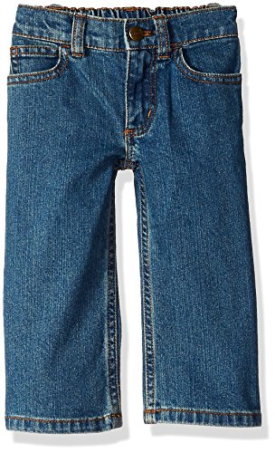 Carhartt Baby Boys Denim Pant, Medium wash, 18M ()
