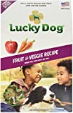 Lucky Dog 5861Ld 1 Piece Fruit And Veggie Recipe Baked Dog Biscuit, 12 Oz