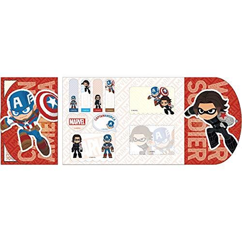 [해외]デルフィ?ノ 디즈니 마블 자석 ふせん 캡틴 아메리카 및 겨울 군인 DZ-80165 / Delfino Disney Marvel magnet Sticky Captain America & Winter Soldier DZ-80165