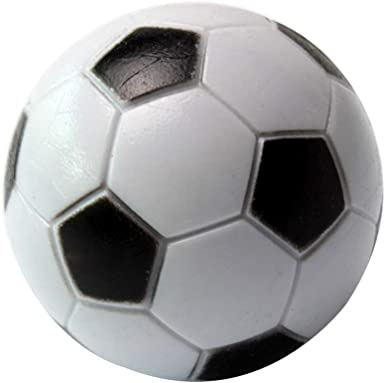 Ogquaton - Mini balones de mesa de resina - Balón clásico de fútbol - Deportes profesionales - Futbolín de mesa para escritorio - Juegos deportivos para niños - 10 unidades - Práctico y popular: Amazon.es: Amazon.es